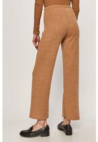 Brązowe spodnie dresowe Haily's