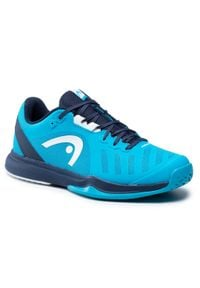 Head - Buty HEAD - Sprint Team 3.0 2021 273321 Ocean/Dress Blue 075. Kolor: niebieski. Materiał: materiał. Sport: bieganie