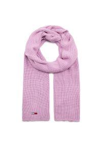 Różowy szalik Tommy Jeans