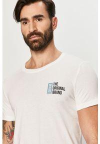 Biały t-shirt Tom Tailor casualowy, na co dzień