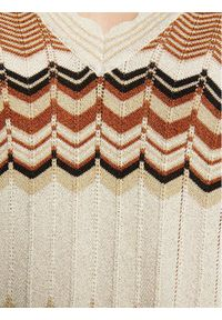 Morgan Sweter 211-MCLARA Beżowy Regular Fit. Kolor: beżowy #2