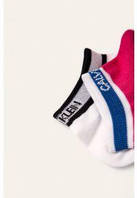 Wielokolorowe skarpetki Calvin Klein z nadrukiem