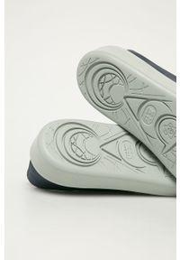 Niebieskie sneakersy Camper z okrągłym noskiem, na sznurówki