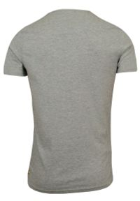 T-Shirt męski (koszulka) - Brave Soul - Hipster z Fajką w Kapeluszu. Okazja: na co dzień. Materiał: bawełna, wiskoza. Wzór: nadruk. Styl: casual
