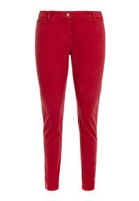 Czerwone jeansy slim Persona by Marina Rinaldi