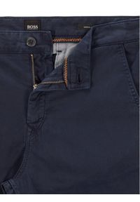 BOSS - Boss Spodnie materiałowe Schino-Taber D 50442037 Granatowy Tapered Fit. Kolor: niebieski. Materiał: materiał