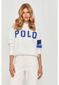 Biała bluza Polo Ralph Lauren polo, z nadrukiem