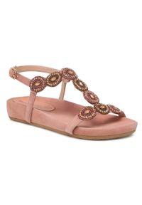 Różowe sandały Salamander