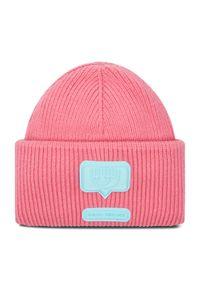 Różowa czapka zimowa Chiara Ferragni