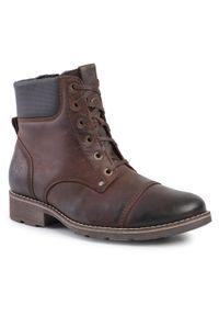 Brązowe buty zimowe Nik