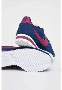 Niebieskie buty sportowe Nike z cholewką, Nike Cortez