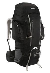 Vango plecak trekkingowy Sherpa 65 Shadow Black. Kolor: czarny. Wzór: napisy