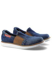 Lanqier - Półbuty ARTIKER 4GC0126 Jeans. Materiał: jeans