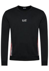 EA7 Emporio Armani Bluza 6KPM66 PJ05Z 1200 Czarny Regular Fit. Kolor: czarny