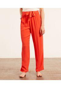 Berryl Wiązane Spodnie Od Piżamy - L - Pomarańczowy - Etam. Kolor: pomarańczowy