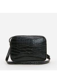 Czarna torebka Reserved skórzana