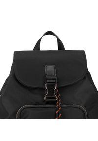 Czarny plecak Wittchen z aplikacjami, młodzieżowy