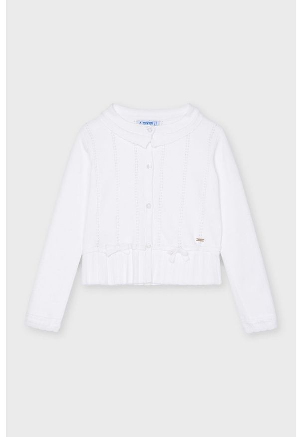 Biały sweter Mayoral casualowy, na co dzień