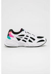 Białe buty sportowe Asics Tiger z cholewką, na sznurówki, Asics Tiger