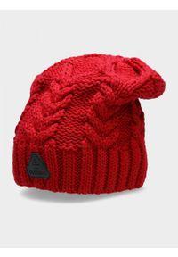 Czerwona czapka zimowa outhorn #2