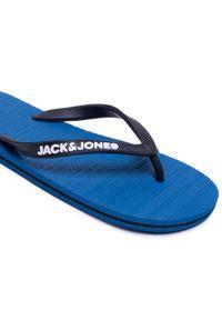 Jack & Jones - Japonki JACK&JONES - Jfwbasic 12184290 Mykonos Blue. Kolor: czarny. Materiał: materiał