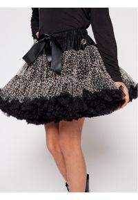 LaVashka Spódnica 90-B Czarny Regular Fit. Kolor: czarny