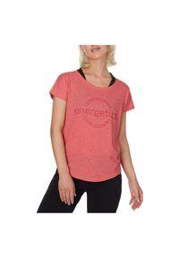 Koszulka sportowa dla kobiet Energetics Carly 6 407780. Materiał: bawełna, materiał, poliester. Wzór: gładki. Sezon: lato