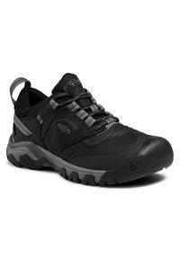 keen - Keen Trekkingi Ridge Flex Wp M 1024916 Czarny. Kolor: czarny. Sport: turystyka piesza