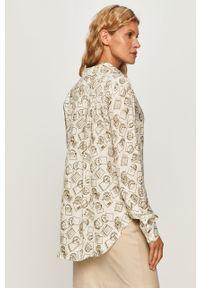 Wielokolorowa koszula Sportmax Code długa, z klasycznym kołnierzykiem #5