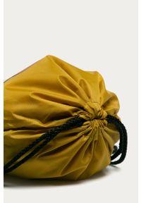 Oliwkowy plecak Vans z nadrukiem