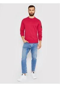 Calvin Klein Jeans Bluza J30J314035 Różowy Regular Fit. Kolor: różowy