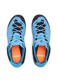 Niebieskie buty trekkingowe Mammut