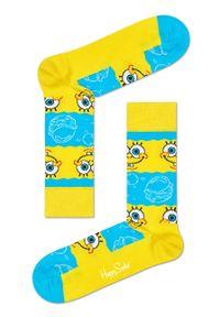 Żółte skarpetki Happy-Socks