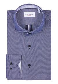 Baldessarini Koszula Henry B3 10003/000/3025 Granatowy Tailored Fit. Kolor: niebieski #5