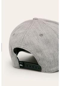 Szara czapka z daszkiem Quiksilver
