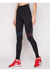 Adidas - adidas Legginsy adicolor Tricolor GN2867 Czarny Slim Fit. Kolor: czarny