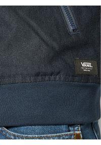 Vans Kurtka puchowa Wells Mte VN0A457R Granatowy Regular Fit. Kolor: niebieski. Materiał: puch