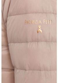 Fioletowa kurtka Patrizia Pepe bez kaptura, klasyczna #9
