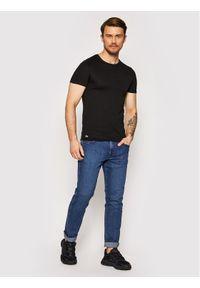 Lacoste Komplet 3 t-shirtów TH3321 Czarny Slim Fit. Kolor: czarny