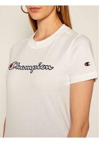 Biały t-shirt Champion