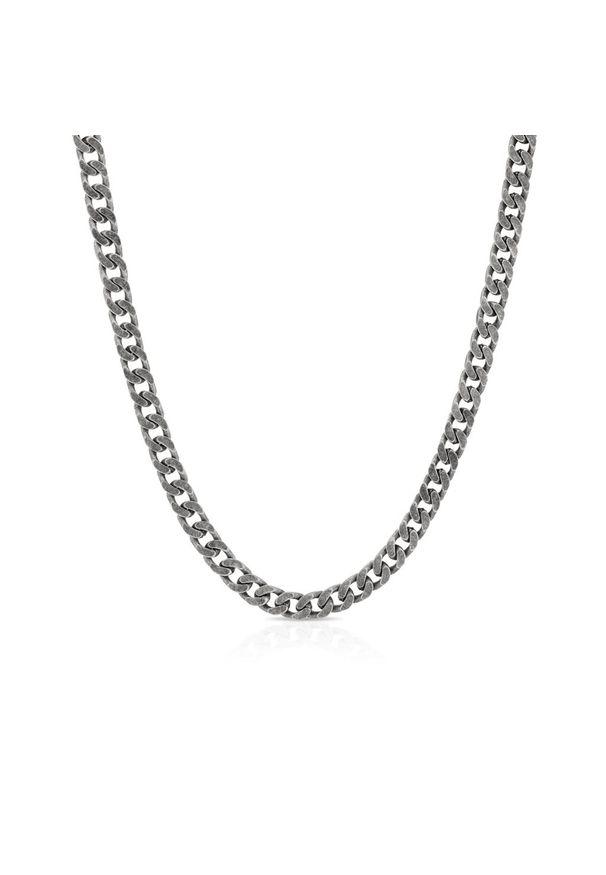 W.KRUK Srebrny Łańcuszek - srebro 925 - SSX/LS376. Materiał: srebrne. Kolor: srebrny. Wzór: ze splotem