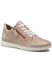 Jana - Sneakersy JANA - 8-23751-26 Rose/Gold 522. Okazja: na co dzień. Kolor: różowy. Materiał: skóra ekologiczna, materiał. Szerokość cholewki: normalna. Styl: casual