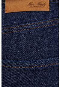 Mos Mosh - Jeansy Lana. Stan: podwyższony. Kolor: niebieski
