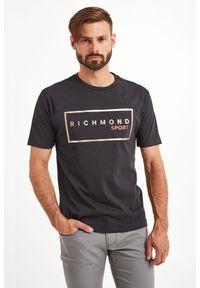 T-shirt John Richmond Sport sportowy, w kolorowe wzory