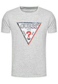 Guess T-Shirt M1RI72 K8FQ1 Szary Regular Fit. Kolor: szary