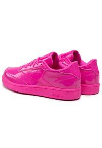 Buty Reebok - Club C H02516 Dynpnk/Dynpnk/Dynpnk. Kolor: różowy. Materiał: skóra. Szerokość cholewki: normalna. Styl: młodzieżowy