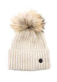 Beżowa czapka Bogner