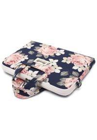 Torba na laptopa CANVASLIFE w kwiaty