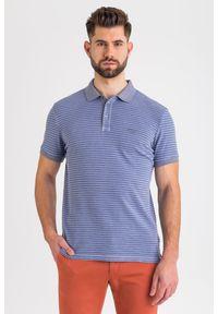 Koszulka polo JOOP! Jeans w kolorowe wzory, sportowa, polo