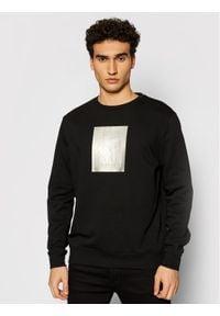 Karl Lagerfeld - KARL LAGERFELD Bluza 705081 511900 Czarny Regular Fit. Typ kołnierza: dekolt w karo. Kolor: czarny